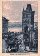 Old Town tower around 1870