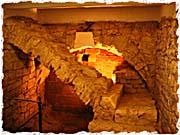 Überreste der Judithbrücke (Foto: Štěpánka Budková)