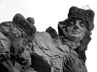 Статуя св. Людмилы на Карловом мосту, Фото: Штепанка Будкова, Чешское радио - Радио Прага