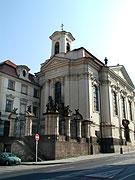 The Orthodox chapel on Resslova Street in Prague