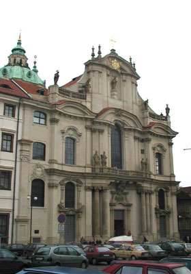 St Nicolas church, photo: archive of Radio Prague