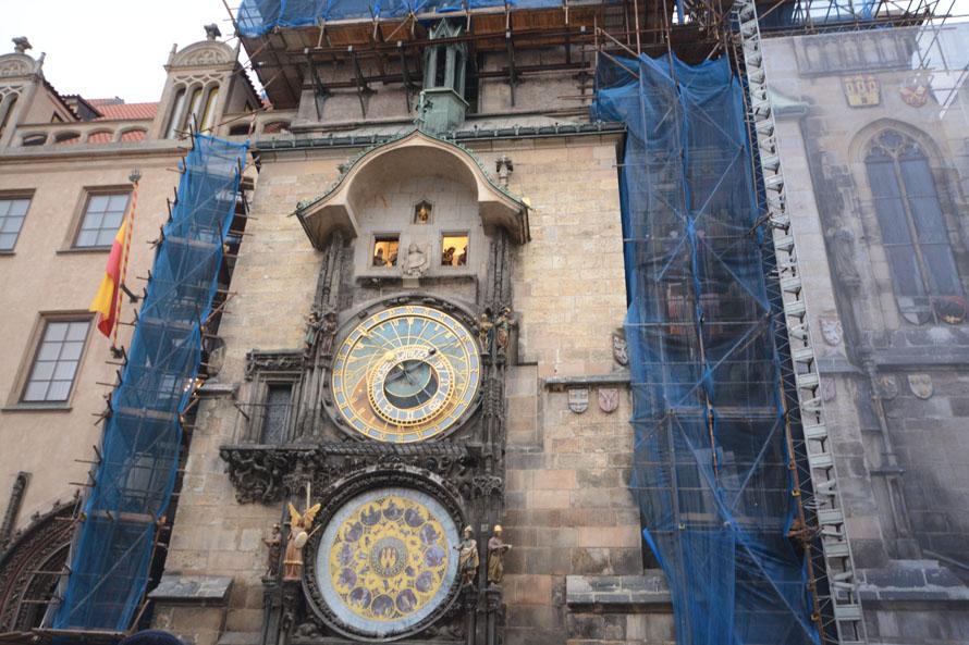 Prager Astronomische Uhr Steht Still Radio Prag