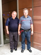 Achim Kissel (links). Foto: Till Janzer