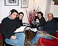 Carlos González-Shánel, Carlos del Romero, Roman Casado y Freddy Valverde