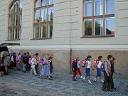 Schuljahrbeginn (Foto: Anna Polakova)