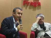 Lorenzo Silva, Ivan Klíma, foto: Gonzalo Núñez