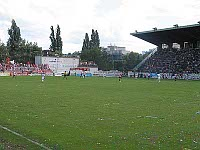 Bohemians-Stadion in Vrsovice, photo: Kristýna Maková