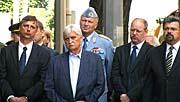 Jiří Dienstbier (second left), photo: Kristýna Maková