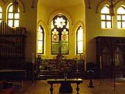 Interior of the Jan Hus Church