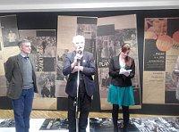 La inauguración de la exposición 'Somos del Mismo Planeta', foto: Dominika Bernáthová