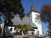 Kirche von Mourenec/St. Maurenzen im Böhmerwald