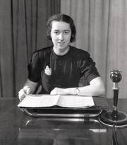 Announcer Bozena Danesova