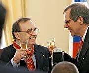 Jiri Grusa und Helmut Elfenkämper