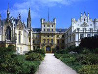 Lednice Castle is one of the Moravian castles that belonged to the Lichtenstein family, photo: www.czechtourism.com