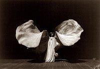 Loïe Fuller en 1902, photo: Frederic Glasier / Library of Congress