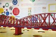 Modell der Prager Eisenbahnbrücke