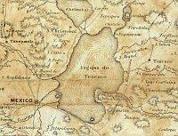 Lago Texcoco en 1847