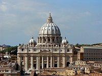 Petersdom in Rom (Foto: Wolfgang Stuck, Wikimedia Free Domain)