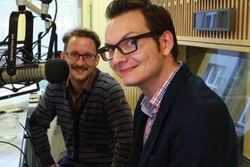 Томаш Голы и Ондржей Крынек (Фото: Мартина Павлоушкова, Чешское радио)