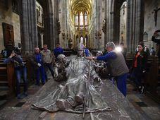 Neue Statuengruppe im Prager Veitsdom (Foto: ČTK)