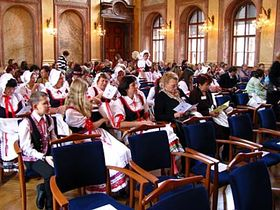 Slavnostní zahájení vRytířském sále Senátu