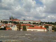Les inondations à Prague