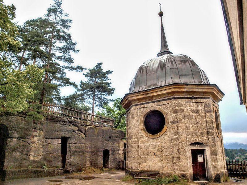 La capilla del castillo de Sloup, foto: VitVit, Wikimedia Commons, CC BY-SA 4.0
