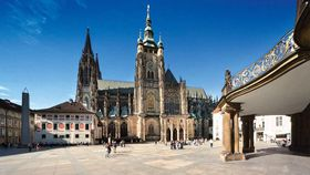 St Vitus Cathedral, photo: CzechTourism