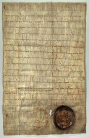 Privilegio de Vladislao, foto: Archivo del Ayuntamiento de Praga