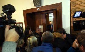 Послушать заключение суда пришли и журналисты, Фото: ЧТК