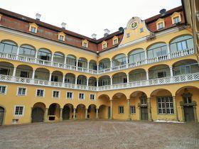 Schloss Ellwangen (Foto: Didi43, Wikimedia Commons, CC BY-SA 4.0)
