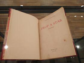 Drop a Star de León Felipe, foto: Enrique Molina