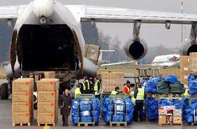 Ayuda humanitaria para Irán, foto: CTK