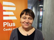 Anna Šabatová, photo: Jan Bartoněk, ČRo