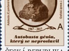 Jára Cimrman tiene un nuevo sello..., foto: Česká Pošta