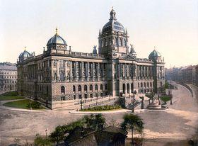 Национальный музей в 1900 г. (Фото: Free Domain)