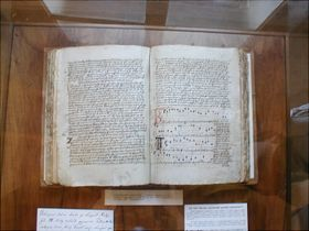 Jistebnice Hymn Book, photo: FDominec, CC BY-SA 3.0