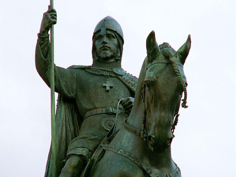 конная статуя св. Вацлава на Вацлавской площади Праги, фото: Ales Tosovsky, CC BY-SA 3.0