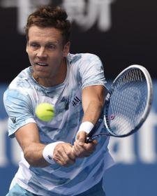 Berdych sumó 42 'winners' y cometió 21 errores en el partido contra Nadal. Foto: ČTK.