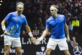 Rafael Nadal und Roger Federer (Foto: ČTK)