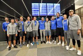 L'équipe nationale tchèque de basket-ball, photo: ČTK/Vít Šimánek