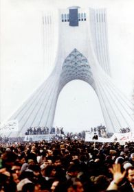 La révolution iranienne, photo: Wikimedia Commons, CC BY-SA 3.0 Unported