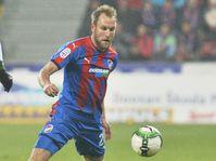 Michael Ngadeu Ngadjui (Slavia Prague), Daniel Kolář (Viktoria Plzeň), photo: CTK