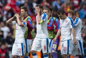 Los checos acabaron desilusionados. Foto: ČTK.