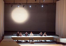 """""""Das Fest und die Gäste"""" (Foto: Peter Fabo, Archiv des Tschechischen Rundfunks)"""