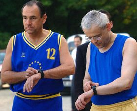 Vladimir Spidla y Ramiro Cibrián, 'Carrera para la UE', foto: CTK