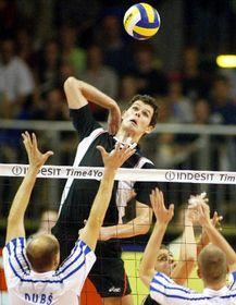 Voleibolistas checos perdieron con Alemania, foto: CTK