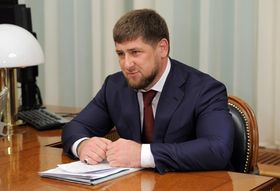 Ramzan Kadyrov, photo : Archives du gouvernement de la Fédération de Russie, CC BY 3.0