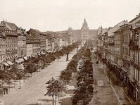 Wenceslas Square in 1890