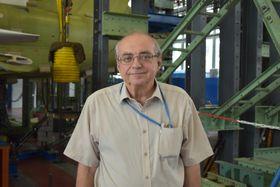 Václav Horák, engineer at VZLÚ, photo: Ondřej Tomšů